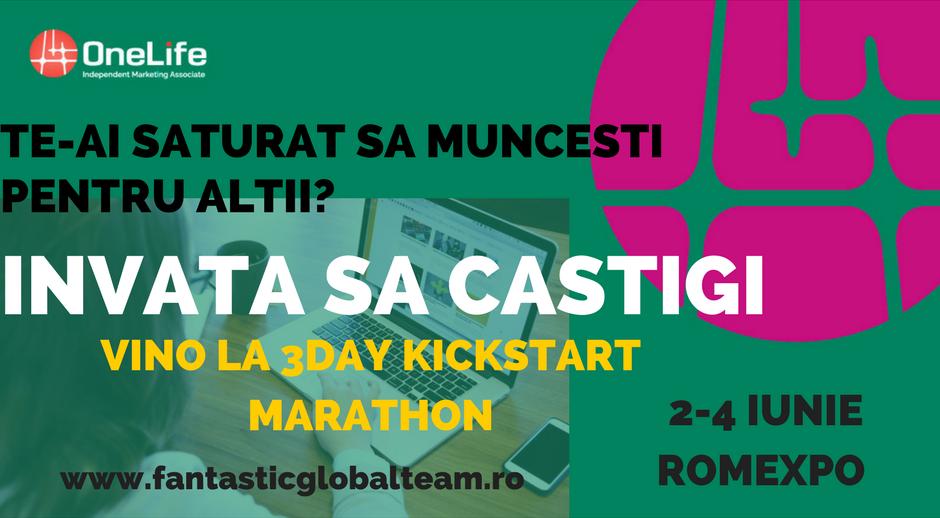 Frames Media Network prezinta - 3Day Kickstart Marathon