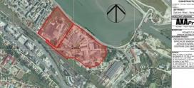 Planul noului mall din Pitești, lansat în dezbatere publică de un SRL din București