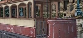 Bucureștiul vechi, reconstruit în realitatea virtuală! Replica primelor tramvaie, readusă pe străzile capitalei